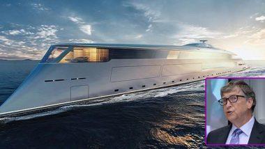 Bill Gates Yacht: బిల్ గేట్స్ ముచ్చట ఖరీదు రూ.4,600 కోట్లు, లిక్విడ్ ఇంజిన్తో నడిచే సూపర్ బోట్ను కొనుగోలు చేసిన మైక్రోసాఫ్ట్ అధినేత, ఈ బోట్ గురించి పూర్తి వివరాలు తెలుసుకోండి
