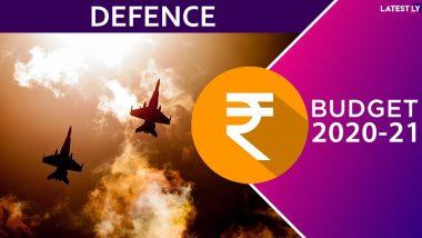 Defence Budget 2020: నిరాశపరిచిన ఢిపెన్స్ బడ్జెట్, రక్షణ రంగానికి రూ. 3.37 లక్షల కోట్లు, డిఫెన్స్ ఆధునీకరణకు ఈ నిధులు సరిపోవంటున్న నిపుణులు, బడ్జెట్లో కానరాని రక్షణ రంగ ప్రస్తావన