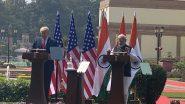 India- USA Deals: 'ఈ పర్యటన మాకెంతో ప్రత్యేకం, మీ ఆతిథ్యాన్ని ఎప్పటికీ గుర్తుంచుకుంటాం' హైదరాబాద్ హౌజ్లో ట్రంప్ కీలక ప్రకటన, ఇండియా-యూఎస్ మధ్య కుదిరిన 3 బిలియన్ డాలర్ల రక్షణ ఒప్పందం