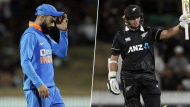 IND vs NZ 2nd ODI: రెండో వన్డేలో కోహ్లీ సేనకు తప్పని పరాభవం, సీరిస్ కైవసం చేసుకున్న కివీస్, టీ20కి ప్రతీకారం తీర్చుకున్న న్యూజీలాండ్, నామమాత్రంగా మారిన మూడో వన్డే