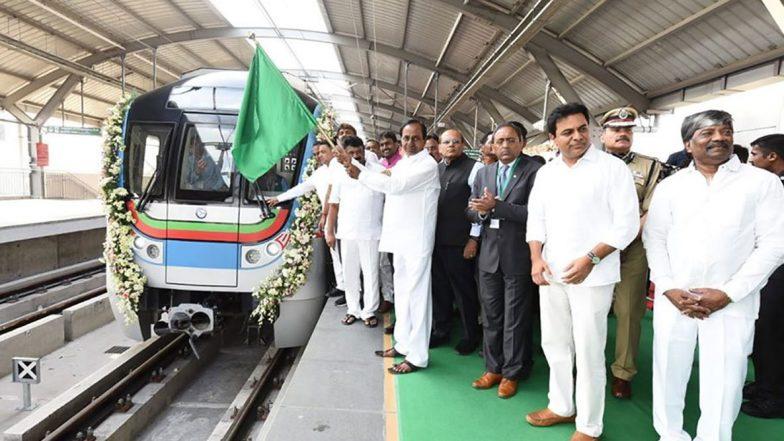 Hyderabad Metro: ఈరోజు నుంచి జేబీఎస్- ఎంజీబీఎస్ మెట్రో సేవలు ప్రజలకు అందుబాటులోకి, దేశంలోనే రెండో అతిపెద్ద మెట్రో నెట్వర్క్గా హైదరాబాద్ మెట్రో అవతరణ