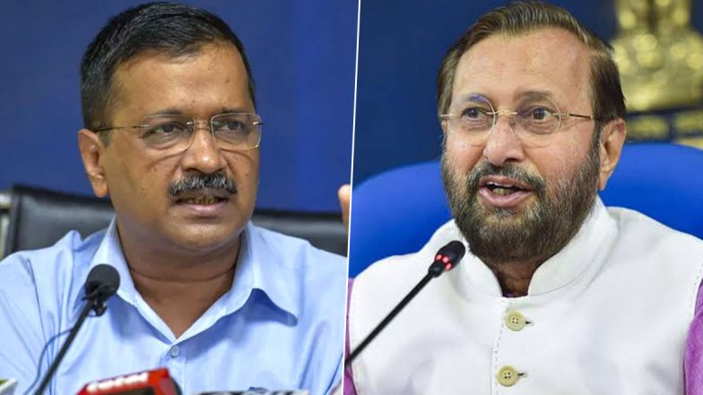 Javadekar vs Kejriwal: 'కేజ్రీవాల్ ఒక టెర్రరిస్ట్, అందుకు ఆధారాలున్నాయి..' దిల్లీ సీఎంపై  కేంద్రమంత్రి ప్రకాశ్ జవదేకర్ సంచలన వ్యాఖ్యలు