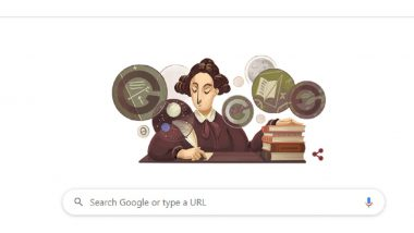 Mary Somerville Google Doodle: స్కాట్లాండ్ సైంటిస్ట్ మేరీ సోమెర్విల్లేకు గూగుల్ డూడుల్ ఘన నివాళి, భౌతిక, గణిత శాస్త్రాల్లో పరిశోధనలు, నాలుగు పుస్తకాలు రాసిన మారీ సోమర్విల్లె