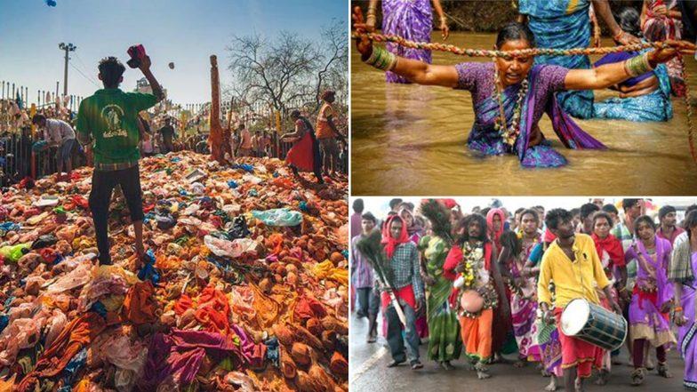 Medaram Jathara 2020: మేడారం భక్తులకు ఉచిత వైఫై, ప్రారంభమైన సమ్మక్క- సారలమ్మల మహాజాతర, జనసంద్రంగా మేడారం, నాలుగు మార్గాల్లో మేడారం చేరుకోవచ్చు