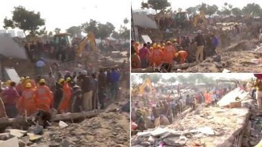 Mohali Building Collapse: పంజాబ్లో ఘోర ప్రమాదం, కుప్పకూలిన మూడంతస్తుల భవనం, ఏడుగురిని కాపాడిన సహాయక బృందం, కొనసాగుతున్న సహాయక చర్యలు