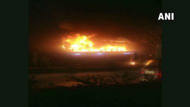 Musheerabad Fire Accident: ముషీరాబాద్లో భారీ అగ్నిప్రమాదం, మంటల్లో కాలిబూడిదైన 7 కార్లు, మంటల్లో చిక్కుకున్న మారుతీ కార్ల షోరూం, భారీ ఆస్తి నష్టం
