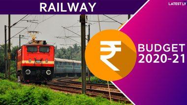 Railway Budget 2020: రైల్వే ప్రయాణికులకు శుభవార్త, మరిన్నికొత్త రైళ్లు అందుబాటులోకి, కొత్తగా కిసాన్ రైలు, పర్యాటక ప్రాంతాల్లో తేజస్ రైళ్లు, రవాణా మౌలిక సదుపాయాల కోసం రూ.1.7 లక్షల కోట్లు
