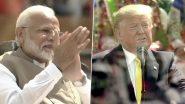 Namaste Trump: అమెరికాలో భారత్కు ఎప్పుడూ ప్రత్యేక స్థానం. కీలక ఒప్పందాలు, సినిమా- క్రికెట్ విశేషాలు, ఉగ్రవాదంపై ఉమ్మడి పోరాటం, పేదరిక నిర్మూలనపై ఆల్ రౌండ్ స్పీచ్తో అదరగొట్టిన డొనాల్డ్ ట్రంప్