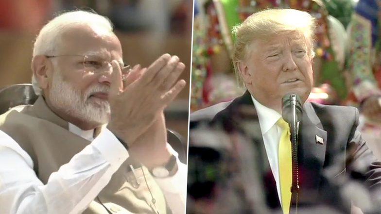 Namaste Trump: అమెరికాలో భారత్కు ఎప్పుడూ ప్రత్యేక స్థానం. కీలక ఒప్పందాలు, సినిమా- క్రికెట్ విశేషాలు, ఉగ్రవాదంపై ఉమ్మడి పోరాటం, పేదరిక నిర్మూలన; ఆల్ రౌండ్ స్పీచ్తో అదరగొట్టిన డొనాల్డ్ ట్రంప్