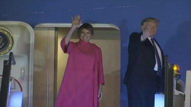 Trump Concluded India Visit: రెండు రోజుల భారత పర్యటన ముగించుకొని స్వదేశానికి పయనమైన అమెరికా అధ్యక్షుడు డొనాల్డ్ ట్రంప్, కృతజ్ఞతలు తెలిపిన ప్రధాని మోదీ