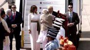 Donald Trump Arrived: భారత్ చేరుకున్న డొనాల్డ్ ట్రంప్, అహ్మదాబాద్ అంతర్జాతీయ విమానాశ్రయంలో ల్యాండ్ అయిన ట్రంప్ ఎయిర్ ఫోర్స్ వన్ విమానం