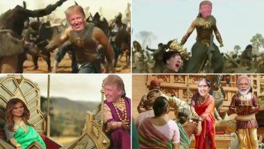 Donald Trump 'Bahubali': బాహుబలిగా మారిన ట్రంప్, ప్రభాస్ ప్లేసులోకి వచ్చిన అమెరికా అధ్యక్షుడు, భారత్లో మంచి మిత్రులు ఉన్నారంటూ రీట్వీట్, ఈ నెల 24న ఇండియాకి ట్రంప్