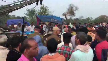 Bihar Road Accident: 11 మందిని బలి తీసుకున్న రోడ్డు ప్రమాదం, బీహార్లో ట్రాక్టర్ను ఢీకొన్న స్కార్పియో వాహనం, తెల్లవారుజామున ముజఫర్పూర్ జిల్లాలోని జాతీయ రహదారి 28పై ఘటన