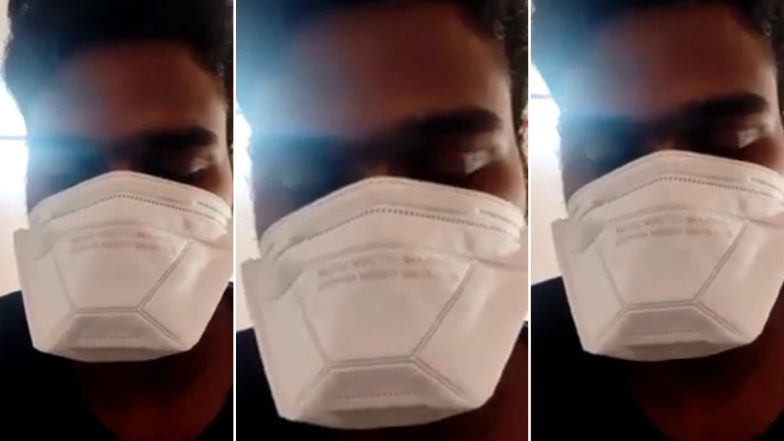 Covid-19 Patient Selfie Video: సెల్ఫీ వీడియోలో కరోనా పేషెంట్ కన్నీటి ఆవేదన, నా మూలంగా నా ఫ్యామిలీని బ్లేమ్ చేయవద్దంటూ వినతి, త్వరగా బయటకు వచ్చేలా సపోర్ట్ చేయాలని రిక్వెస్ట్