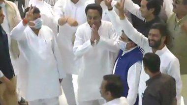 MP Floor Test: కరోనా ఎఫెక్ట్, మధ్యప్రదేశ్ అసెంబ్లీ ఈ నెల 26కి వాయిదా, అవిశ్వాస తీర్మానానికి రెడీ అంటున్న సీఎం కమల్ నాథ్, మాస్క్లతో అసెంబ్లీకి వచ్చిన ఎమ్మెల్యేలు