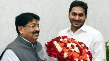 Parimal Nathwani Meets AP CM: సీఎం జగన్తో పరిమల్ నత్వానీ, రాజ్యసభ అభ్యర్థిత్వం ఇచ్చినందుకు కృతజ్ఞతలు, ఆంధ్రప్రదేశ్ ప్రజలకు సేవ చేస్తానని వెల్లడి