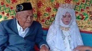 Peculiar Wedding: 103 ఏళ్ళ తాత 27 ఏళ్ళ యువతిని గర్భవతిని చేశాడు, ఆపై ప్రేమ వివాహం చేసుకున్నాడు, ఇండోనేషియాలో ఘటన, సోషల్ మీడియాలో వైరల్ అవుతున్న వీడియో