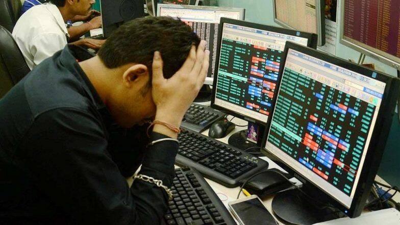 Indian Markets Crash: భారీ పతనంతో ప్రారంభమైన స్టాక్ మార్కెట్లు, 2900 పాయింట్లు నష్టపోయిన సెన్సెక్స్, 8వేల దిగువకు పడిపోయిన నిఫ్టీ, 45 నిమిషాలు ట్రేడింగ్ నిలిపివేత