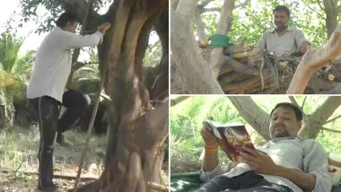COVID-19 'Treehouse': కరోనా దెబ్బ, జనావాసం వదిలి చెట్టుమీద నివాసం ఉంటున్న లాయర్, సామాజికి దూరాన్ని పాటించేందుకు ఇలా, ఉత్తరప్రదేశ్లో ఘటన
