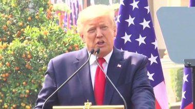 Donald Trump: ఆస్పత్రిలో చేరిన అమెరికా అధ్యక్షుడు, డొనాల్డ్ ట్రంప్, ఆయన భార్య మెలానియాకి కరోనా, మాస్క్ ధరించకపోవడం వల్లే కరోనా వచ్చిందని తెలిపిన ట్రంప్ ప్రత్యర్థి జో బైడెన్
