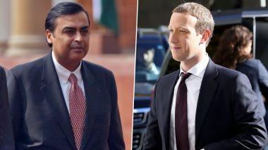 Facebook-Reliance Jio Deal: జియోలో 9.9 శాతం వాటాను కొనేసిన ఫేస్బుక్, డీల్ విలువ రూ. 43,574 కోట్లు, కొనుగోలుతో రిలయన్స్ ఇండస్ట్రీస్పై తగ్గనున్న అప్పుల భారం