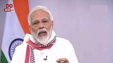 #AatmanirbharBharat: ఆత్మ నిర్భర్ భారత్ అభియాన్ పేరుతో రూ.20 లక్షల కోట్ల ప్యాకేజీ, సర్కార్ నుంచి వెళ్లే ప్రతి రూపాయి ప్రతి శ్రామికుడు, రైతు జేబులోకి, 21వ శతాబ్దం భారత్దేనని తెలిపిన ప్రధాని మోదీ