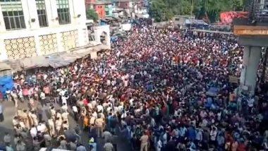 Bandra Lockdown Violation: ముంబై బాంద్రాలో వలస కార్మికుల ఘోష, లాక్డౌన్ పొడిగింపుపై నిరసన, హింసాత్మకంగా మారిన వాతవరణం, రంగంలోకి దిగిన హోమంత్రి అమిత్ షా
