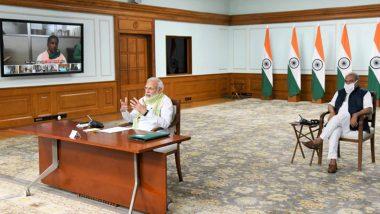 PM Modi 'Do Gaz Ki Doori': ప్రధాని 'దో గజ్ కి డూరి' నినాదం, కరోనా మంచి గుణపాఠం నేర్పింది, పంచాయతీరాజ్ దినోత్సవం సందర్భంగా సర్పంచులతో ప్రధాని వీడియో కాన్ఫరెన్స్