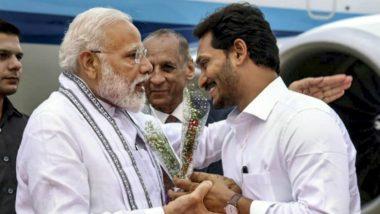 CM YS Jagan to Meet PM Modi: మరికొద్ది సేపట్లో ప్రధానితో వైయస్ జగన్ భేటీ, రాష్ట్రంలో జరిగిన కీలక అంశాలు చర్చకు వచ్చే అవకాశం, తదనంతరం అపెక్స్ కౌన్సిల్ సమావేశంలో పాల్గొననున్న ఏపీ సీఎం