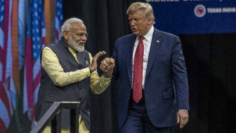 Trump Thanks PM Modi: 'మీ బలమైన నాయకత్వం, మానవత్వానికి సహాపడుతుంది'. ప్రధాని నరేంద్ర మోదీపై యూఎస్ ప్రెసిడెంట్ ప్రశంసలు, హైడ్రోక్లోరోక్విన్ ఎగుమతిపై ధన్యవాదాలు తెలిపిన ట్రంప్