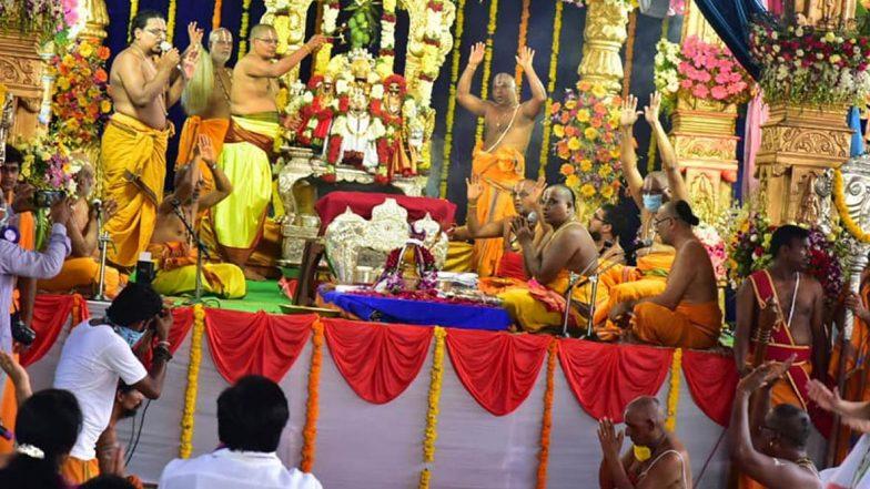 Bhadrachalam Adhyayanotsavalu: భద్రాద్రిలో వైకుంఠ ఏకాదశి అధ్యయనోత్సవాలు, దశావతారాల్లో దర్శనమివ్వనున్న శ్రీరామచంద్రులు, డిసెంబర్ 15 నుంచి జనవరి 4 వరకు ఉత్సవాలు