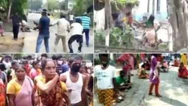West Bengal Clash: పోలీసులకు, స్థానికులకు మధ్య గొడవ, పశ్చిమబెంగాల్లో ఘర్షణ వాతావరణం, కరోనాపై పోరులో కేంద్ర ప్రభుత్వానికి సహకరిస్తామని తెలిపిన పశ్చిమబెంగాల్ సర్కార్