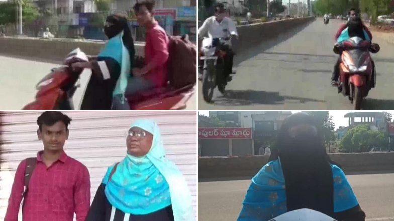 Woman Rides 1,400 km for Son: అమ్మా నీకు వందనం, లాక్డౌన్ వేళ కొడుకు కోసం ఓ తల్లి రాష్ట్రాన్ని దాటింది, 1400 కిలోమీటర్లు స్కూటీ మీద ప్రయాణం చేసింది