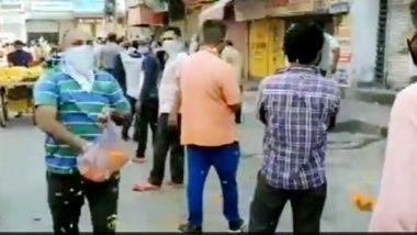 Delhi Lockdown 3.0: ఢిల్లీలో మందుబాబులపై పూలవర్షం, ప్రభుత్వం దగ్గర డబ్బు లేదు, ఆర్థిక వ్యవస్థని కాపాడేది మీరేనంటూ పూలు చల్లిన ఢిల్లీ మద్యం ప్రియుడు, వైరల్ అవుతున్న వీడియో