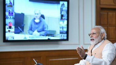 PM Modi Video Conference: సోమవారం మధ్యాహ్నం 3 గంటల నుంచి ముఖ్యమంత్రులతో  ప్రధాని నరేంద్ర మోదీ వీడియో కాన్ఫరెన్స్, కరోనావైరస్ లాక్డౌన్పై చర్చించే అవకాశం