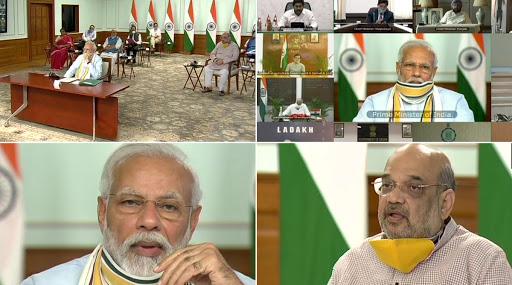 Telugu States CMs with PM: రైళ్లను నడపవద్దన్న కేసీఆర్, ప్రజల్లో భయాన్ని తొలగించాలన్న వైయస్ జగన్, ప్రధాని మోదీతో ముగిసిన రాష్ట్రాల ముఖ్యమంత్రుల వీడియో కాన్ఫరెన్స్