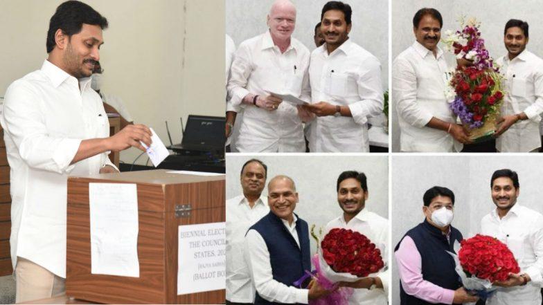 Rajya Sabha Election Results 2020: టీడీపీకి భంగపాటు, ఏపీలో నాలుగు ఎంపీ స్థానాలను కైవసం చేసుకున్న వైసీపీ,  దేశంలో 11 స్థానాలకు ఫలితాలు వెల్లడి