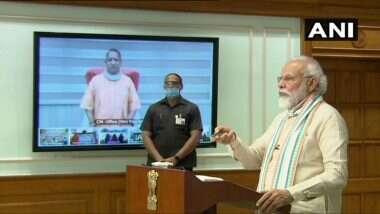 Atma Nirbhar UP Rojgar Abhiyan: ఆత్మ నిర్భర్ ఉత్తరప్రదేశ్ యోజ్గార్ అభియాన్'ను ప్రారంభించిన ప్రధాని మోదీ, యూపీలో వలస కార్మికులకు 125 రోజులపాటు ఉపాధి