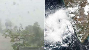 Cyclone Yaas: తీరాన్ని తాకిన యాస్ తుఫాన్, ధామ్రా ఓడరేవు సమీప తీరంలో గంట పాటు కొనసాగనున్న ప్రక్రియ, తీరప్రాంతంలోని జిల్లాల్లో 140 నుంచి 155 కిలోమీటర్ల వేగంతో గాలులు
