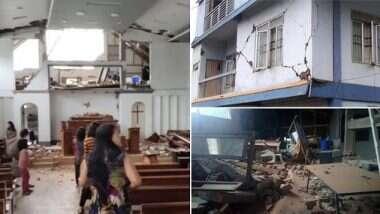 Earthquakes in Mizoram: ఈశాన్య భారతంలో వరుస భూకంపాలు, మిజోరంలో 12 గంటల వ్యవధిలో రెండుసార్లు కంపించిన భూమి, రిక్టర్ స్కేలుపై 5.5 గా నమోదు