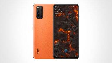 iQOO 3 Volcano Orange: ఐక్యూ 3 స్మార్ట్ఫోన్ యొక్క ఆకర్శనీయమైన వోల్కనో ఆరెంజ్ కలర్ వేరియంట్ భారత మార్కెట్లో విడుదల; ధర, ఫీచర్లు మరియు ఇతర స్పెసిఫికేషన్లు ఇలా ఉన్నాయి