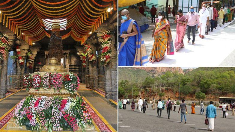 Tirumala Temple Darshan: భక్తులతో పోటెత్తిన తిరుమల, 30 గంటల్లో 60 వేల టికెట్లను కొనుగోలు చేసిన భక్తులు, అలిపిరి వద్ద భక్తులకు థర్మల్ స్క్రీనింగ్