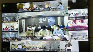 CM Jagan Video Conference: తప్పుడు లెక్కలు అవసరం లేదు, లక్ష కేసుల్లో సగం మందికి పైగా డిశ్చార్జ్ అయ్యారు, వ్యాక్సిన్ వచ్చేంతవరకూ ఎదురు చూద్దాం, కలెక్టర్లతో ఏపీ సీఎం జగన్ వీడియో కాన్ఫరెన్స్