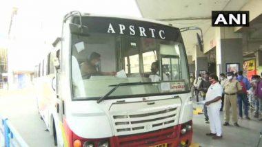 APSRTC: కర్ణాటకకు ఏపీ బస్సులు నిలిపివేత, బెంగుళూరులో పూర్తి లాక్డౌన్ అమలు, జూలై 15 నుండి 23 వరకు అన్ని బస్సు సర్వీసులు నిలిపివేయాలని ఏపీఎస్ఆర్టీసీ నిర్ణయం