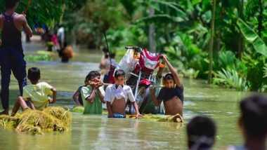 Assam Floods: ఉగ్రరూపం దాల్చిన బ్రహ్మపుత్ర నది, అసోం వరదల్లో 85కు చేరిన మృతుల సంఖ్య, 70 లక్షల మందిపై వరదల ప్రభావం, అసోం సీఎం సోనోవాల్కు ప్రధాని మోదీ ఫోన్