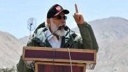 PM Modi Speech in Ladakh: భారత్ బలమేంటో ప్రపంచానికి తెలుసు, లడఖ్ భారత్లో అంతర్భాగమే, సైనికులను చూసి దేశం గర్వపడుతోంది, బార్డర్లో సైనికుల్లో ఉత్తేజాన్ని నింపిన ప్రధాని నరేంద్ర మోదీ