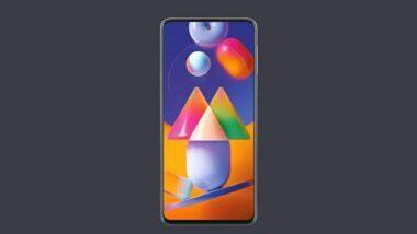 Samsung Galaxy M31s: శాంసంగ్ గెలాక్సీ ఎం31ఎస్ విడుదల, సింగిల్ టేక్ కెమెరా ప్రధాన ఆకర్షణ, 6జీబీ ర్యామ్..128జీబీ స్టోరేజ్ ధర రూ.19,499, ఫీచర్లపై ఓ లుక్కేయండి