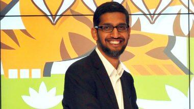 #GoogleForIndia: భారత్లో రూ.75 వేల కోట్ల పెట్టుబడులతో ముందుకొస్తున్న గూగుల్, రాబోయే 5 నుంచి 7 సంవత్సరాల్లో వివిధ రూపాల్లో వెచ్చిస్తామని తెలిపిన గూగుల్ సీఈఓ