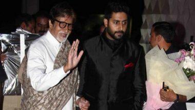 Amitabh Bachchan: బాలీవుడ్ మెగాస్టార్ అమితాబ్ బచ్చన్, అభిషేక్ బచ్చన్లకు కరోనా పాజిటివ్గా నిర్ధారణ, ముంబై నానావతి ఆసుపత్రిలో చేరిక, త్వరగా కోలుకోవాలంటూ ప్రముఖుల సంఘీభావం