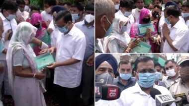Delhi Coronavirus: కరోనాతో మృతి, కోటి రూపాయల చెక్ అందజేసిన ఢిల్లీ సీఎం, ప్రాణాలను పణంగా పెట్టి సఫాయి కార్మికుడు ప్రజలకు సేవ చేసినట్లు తెలిపిన అరవింద్ కేజ్రీవాల్